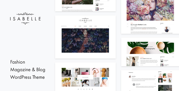 Download Isabelle - Personal Blog WordPress Theme nulled download