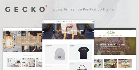 Gecko – Powerful Fashion, Organic Prestashop Theme (Fashion) Download