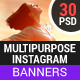 Multipurpose Instagram Templates