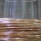 Gold Wire In Coil. Golden Thread