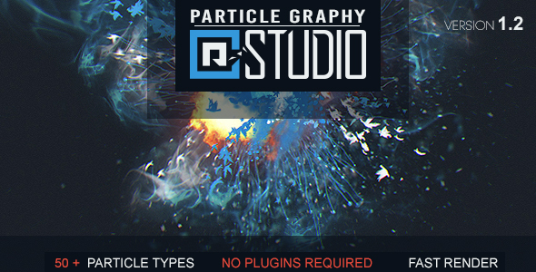 VideoHive Particle Graphy Studio 18522966