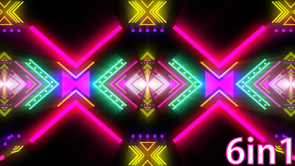 Download VJ Neon Lights nulled download