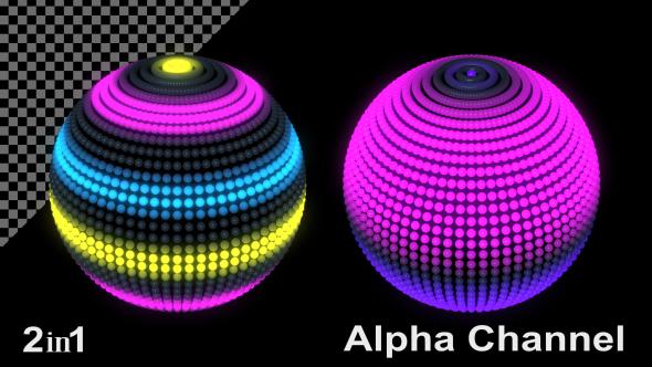 VideoHive LED Disco Ball 2-Pack 18524341