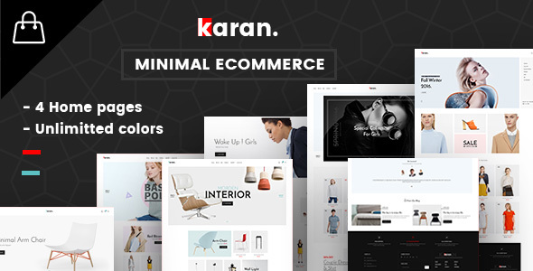 Download Karan - Minimal Fashion Responsive WordPress Theme nulled download