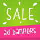 Fresh Sale Ad Banners
