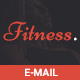 Fitness-Responsive Email Template + Stampready Builder