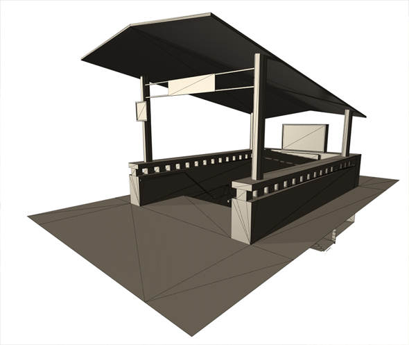 Subway metro station - 3DOcean Item for Sale