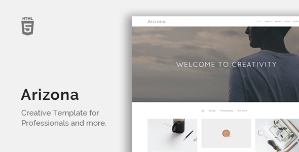 Arizona - Creative Portfolio Template