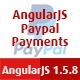 AngularJS Paypal Payments
