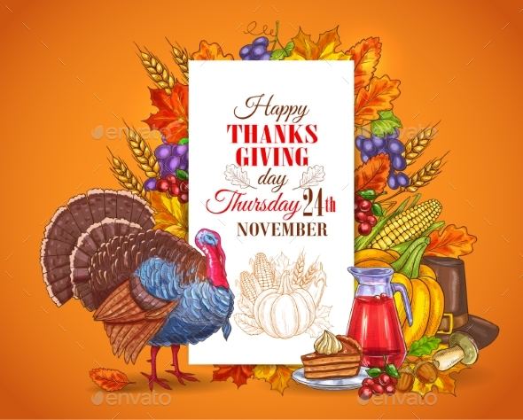 Happy Thanksgiving Day Greeting