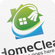 Home Clean - Logo Template