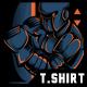 Robo Boxing T-Shirt Design