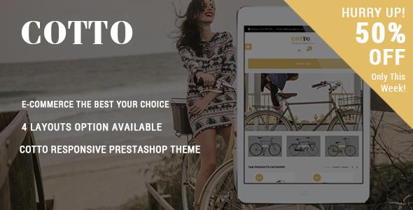 Cotto – Responsive Prestashop Theme (Shopping) Download