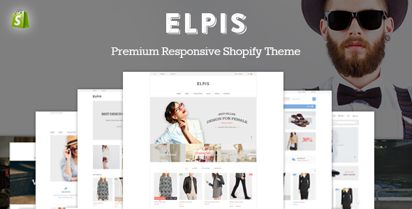 Image of JMS Elpis - Responsive Shopify Theme
