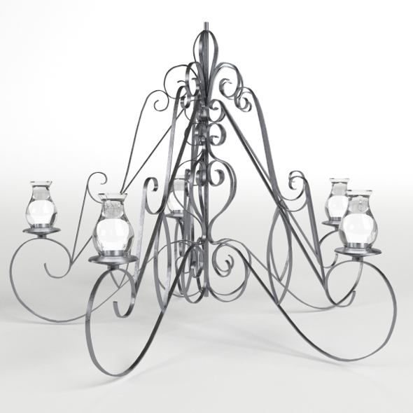 Chandelier - 3DOcean Item for Sale