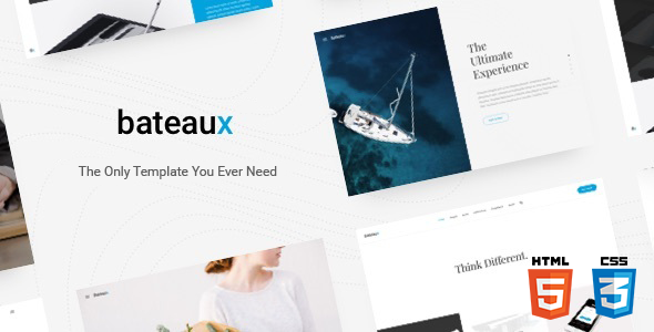 Bateaux - Creative Multi-Purpose HTML Theme