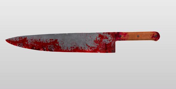 3DOcean Knife 18536202