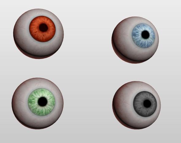 Eyeball - 3DOcean Item for Sale