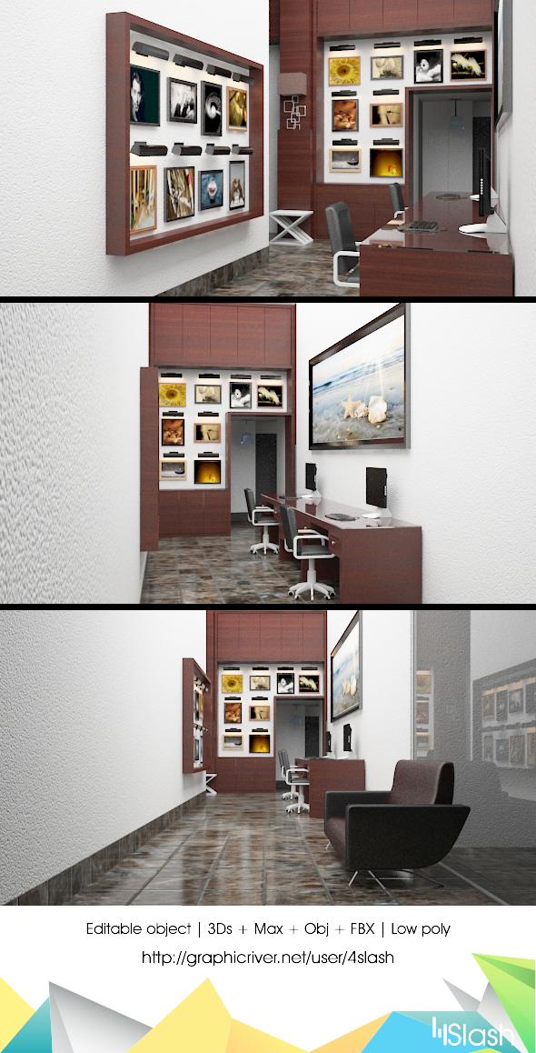 3d Photography Studio - 3DOcean Item for Sale