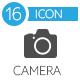 Camera tools, foto flat icons