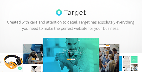 Target - A Powerful & Clean Business Theme