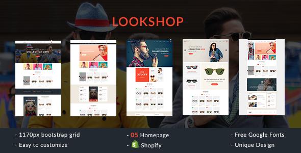 Lookshop – Shopify Responsive Theme (Fashion) Download