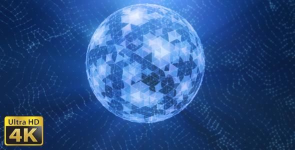 VideoHive Ball Plexus 18541926