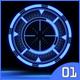 HiTech HUD Circle Target-Radar #01