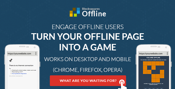 Download Offline - custom offline page - mobile and desktop nulled download