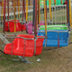 Empty Swing Ride At Carnival - VideoHive Item for Sale