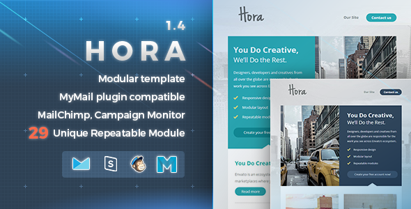 Hora | Responsive Email Template