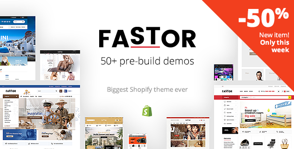 Download Fastor - Multipurpose Responsive Shopify Theme nulled download