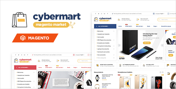 Cybermart – Responsive Magento Theme (Magento) Download