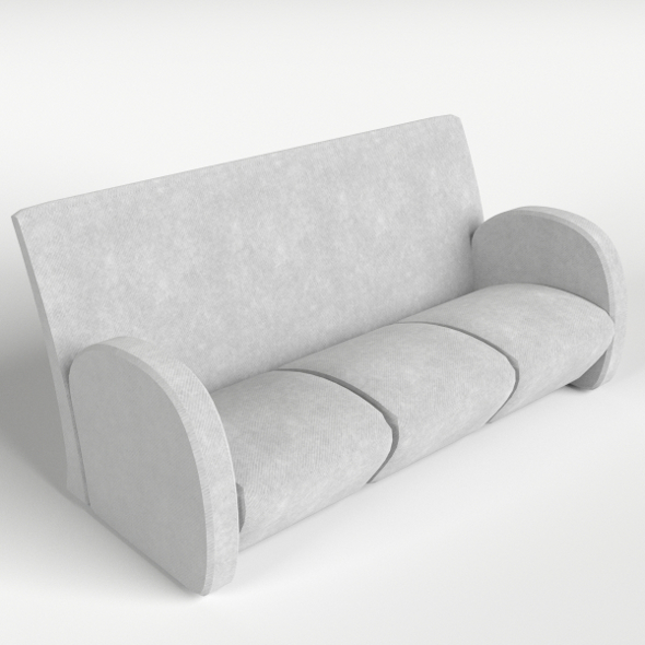 Couch, Sofa 7 - 3DOcean Item for Sale