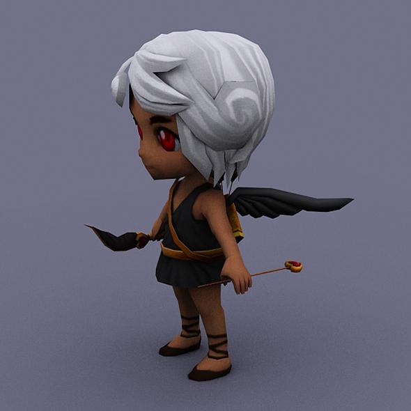 angel dark - 3DOcean Item for Sale