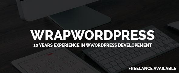 Wrap wordpress