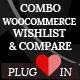 Combo WooCommerce wishlist & Compare plugin