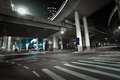 City road bridget night of night scene
