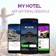 Hotel Booking Material  UI