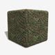 Mossy Brick Paving Circle Pattern Seamless Texture