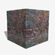 Damaged Re Cemented Bricks Seamless Texture