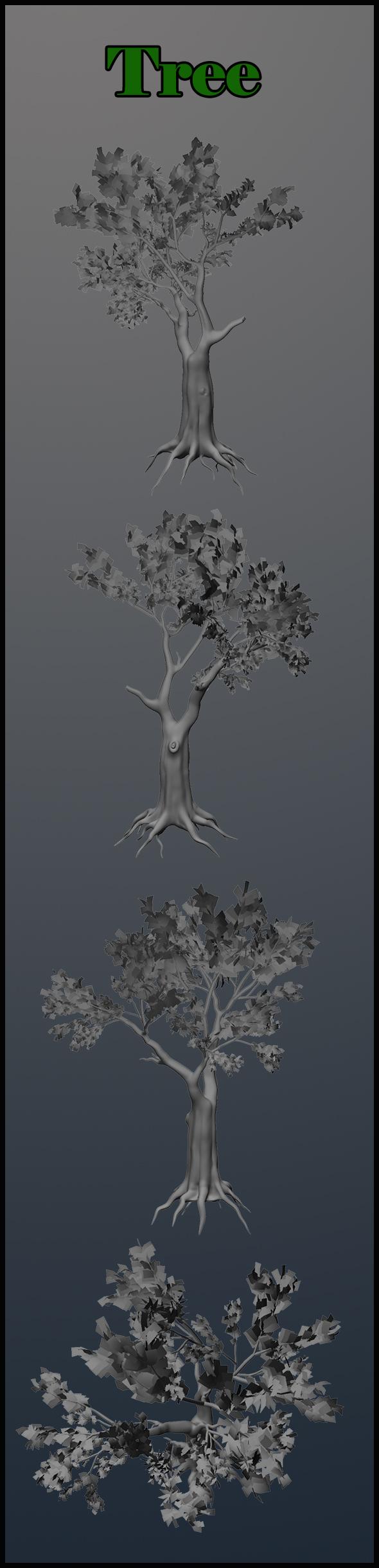 3DOcean tree 18559610