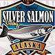 Salmon Fishing Labels