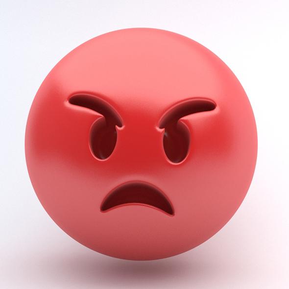 Emoji RAGE - 3DOcean Item for Sale