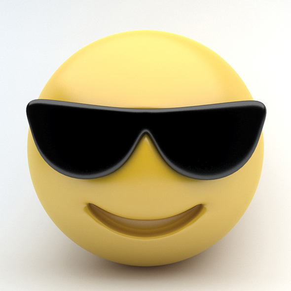 EMOJI sunglasses - 3DOcean Item for Sale