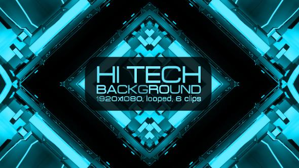 Download Hi Tech Background VJ Kit nulled download