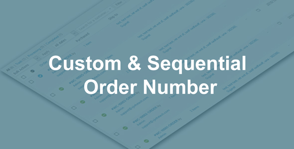Download Woo Custom and Sequential Order Number nulled download