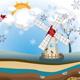Winter Windmill Island