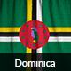 Ruffled Flag of Dominica