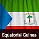 Ruffled Flag of Equatorial Guinea